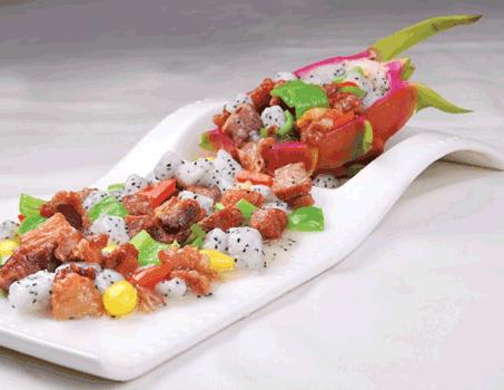 火龙果润肠排毒 秋季健康美食来了
