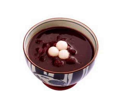 暑天喝红豆汤降火又解暑