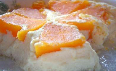 木瓜牛奶蒸蛋