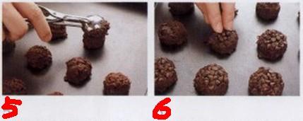 6步轻松自制巧克力饼干