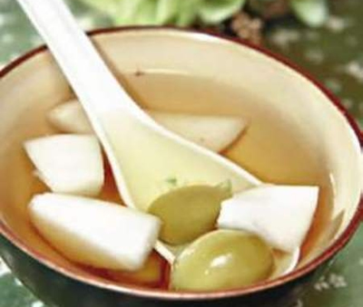 清肺萝卜茶