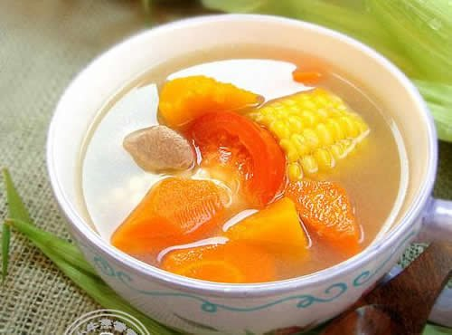 田园蔬菜养生汤做法
