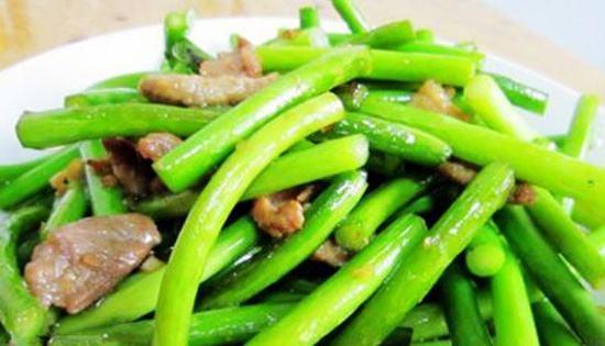 蒜苔不能和什么一起吃,蒜苔相克的食物有哪些