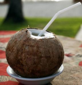 椰子不能和什么一起吃