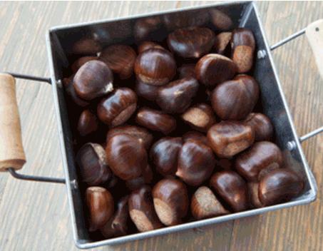 秋冬季多吃栗子保你健康