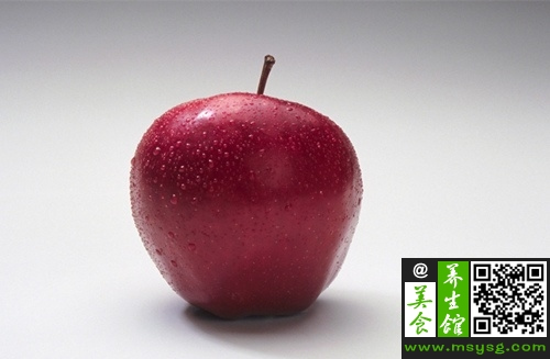 不同颜色苹果 养生功效大不同  (1)