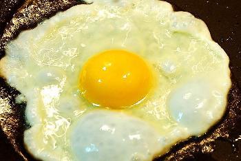 单面煎鸡蛋不宜多吃插图